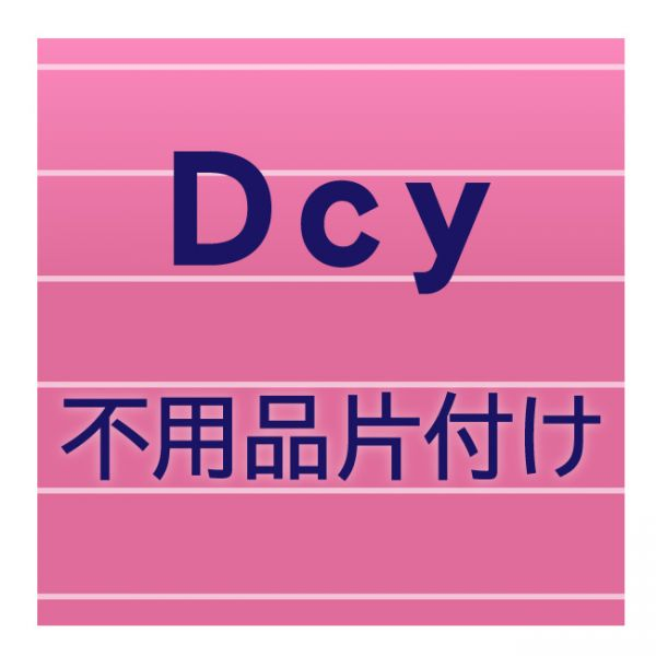 Dcy不用品片付け