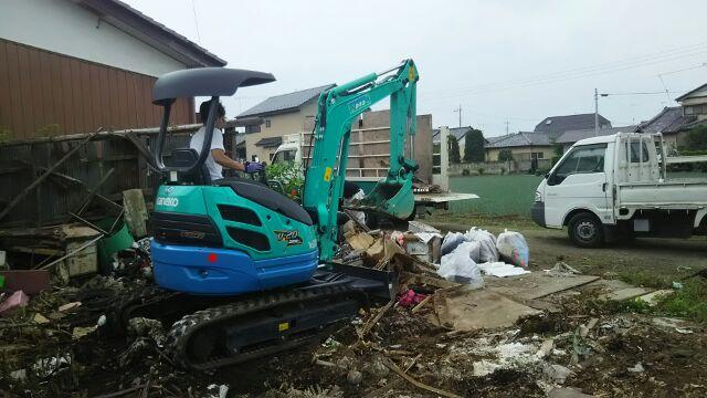 埼玉の物置解体工事