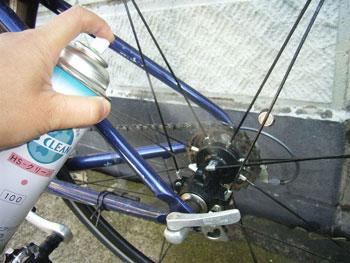 HSクリーン 使用 自転車