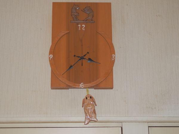 電波時計(アニマル)